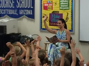 Candice Imwalle at Cochise Elementary School